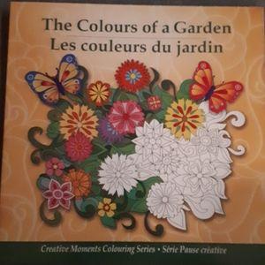 NWT -  Garden Colouring Book